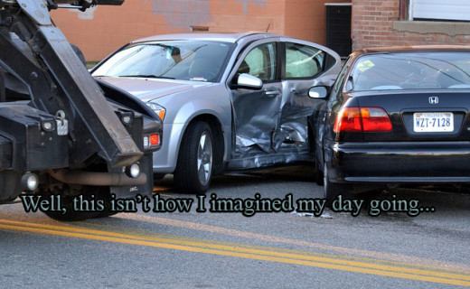 Accidents Happen: What to Do if you're Involved in an Accident