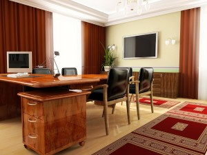Classical office in ADDEN 3d image