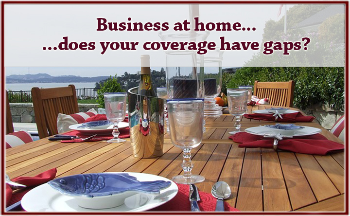 Does Your Homeowners Insurance Cover a Business Event?