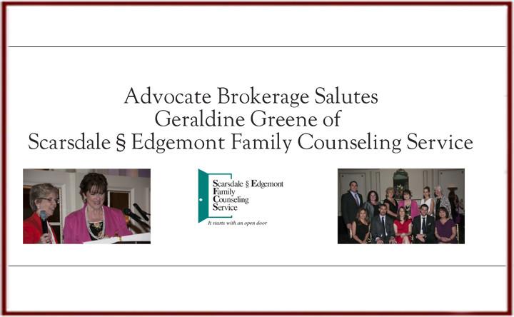 Advocate Salutes Geraldine Greene of SFCS