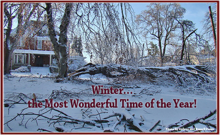 Sometimes Mother Nature is the enemy.  How to prep your home for Winter, The Most Wonderful Time of the Year!