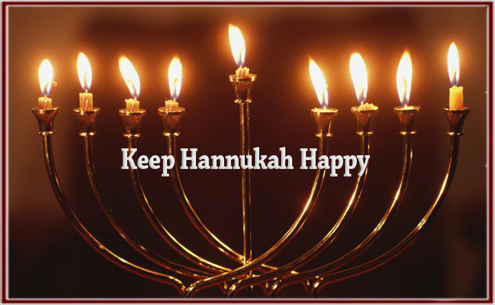 Keep Hanukkah Happy.  Safety Tips for the Festival of Lights!