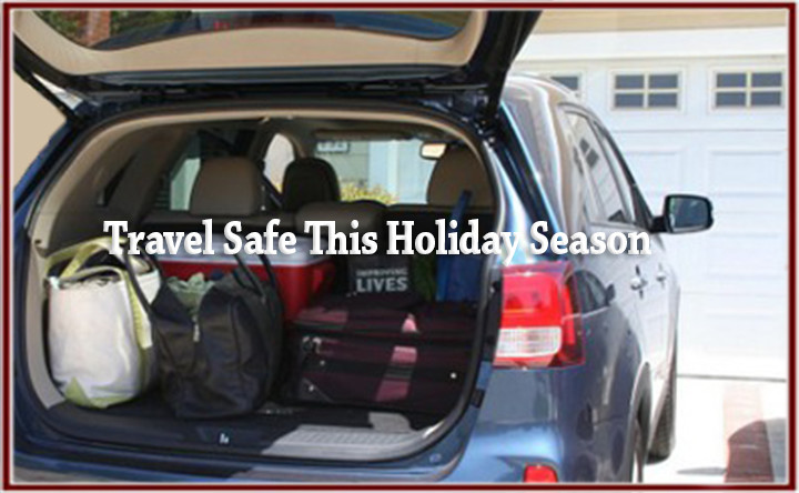 Tis the season to travel.  Tips to keep you safe!