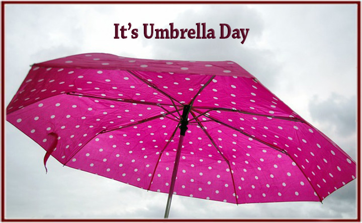 It's Umbrella Day