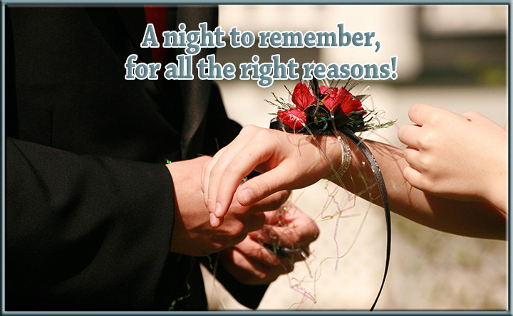 Prom – A night to remember, for all the right reasons!