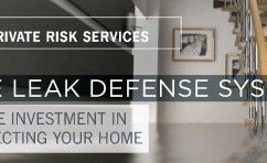 Protect Your Home and Family from Plumbing Leaks, the Most Common and Costly Cause of Loss