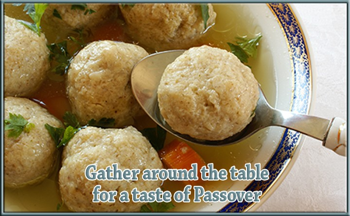 Gather around the table, it's Passover!
