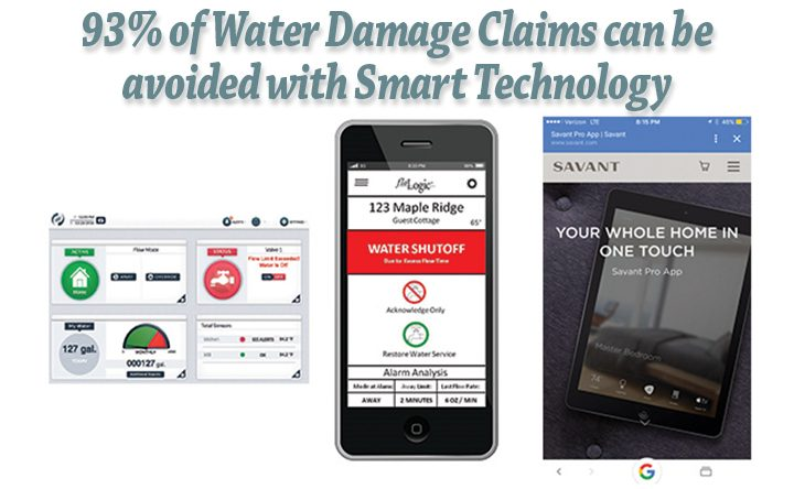 Secondary Homes – Water Damage accounts for 51% of home insurance claims