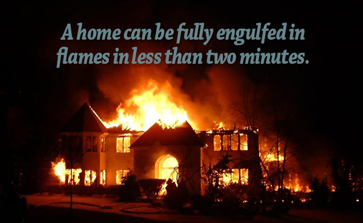 Home Fires increase during winter months.  Are you doing all you can to protect your family?