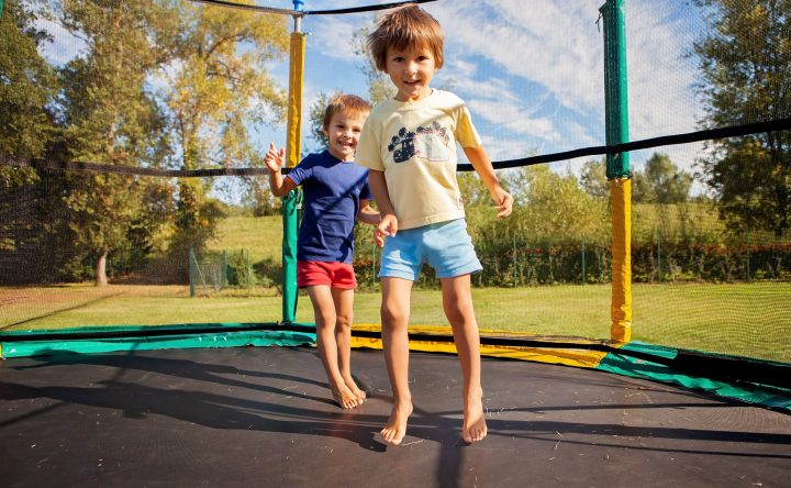 Jump at your own risk.  Important information about trampolines and the risks they pose.