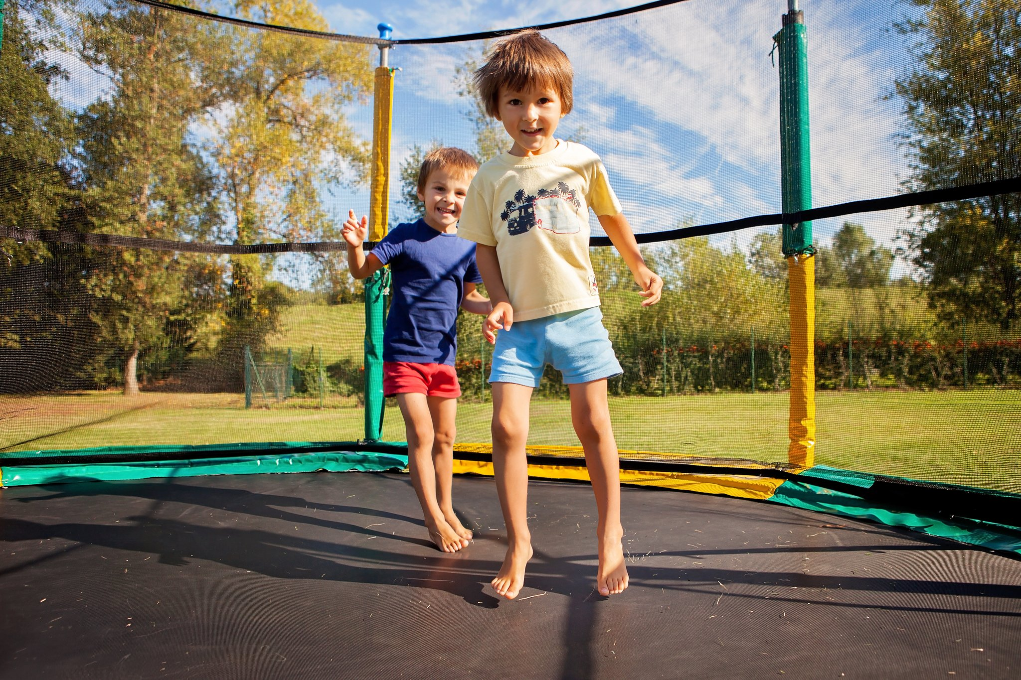 trampoline safety picture