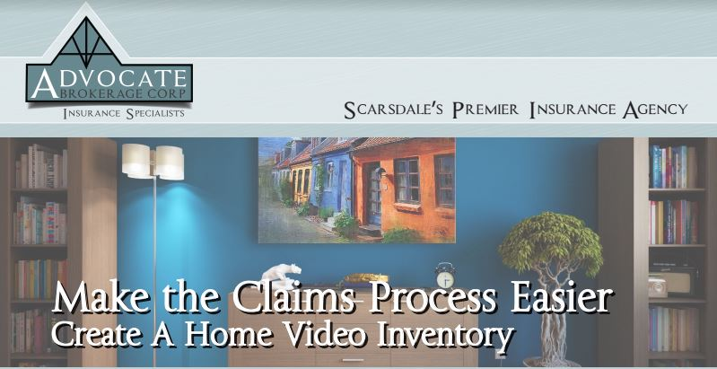 create a home video inventory